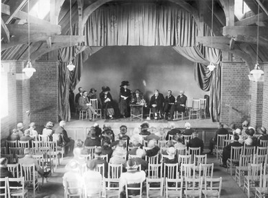 Opening of the Hall - 1925