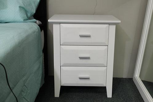 Tucson 3 Drawer Bedside Cabinet