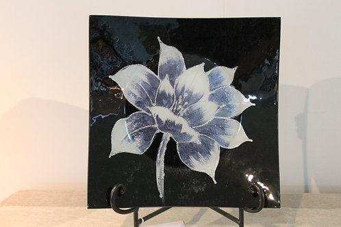 Plate - Silver Magnolia 24 cm