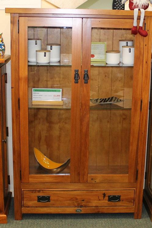 Merivale Display Unit. 2 Door 1 drawer