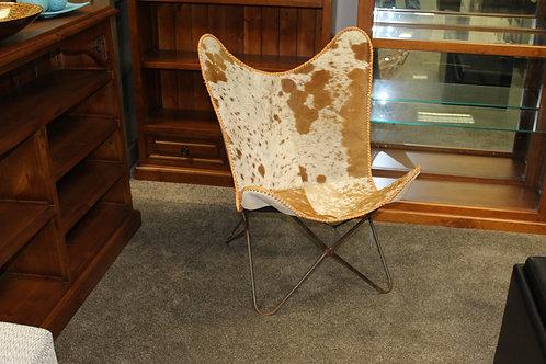 Simply Jute Cowhide Chair