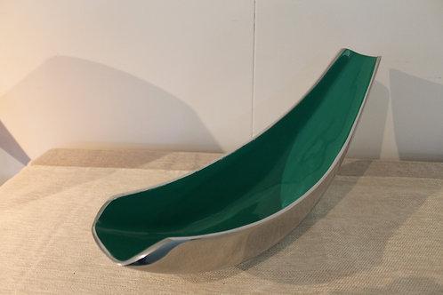 Rachel Emerald Dish - 42 cm