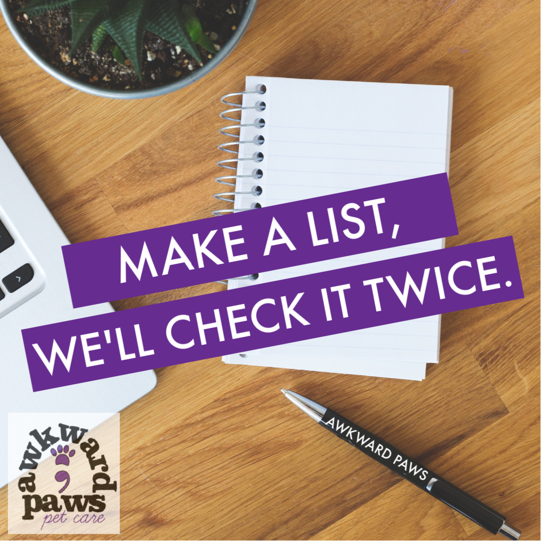 leave a list