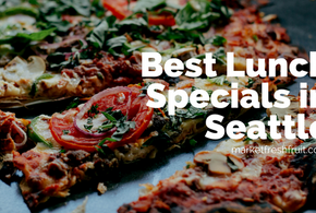 The Best Lunch Specials Near Your Office (Seattle Edition)
