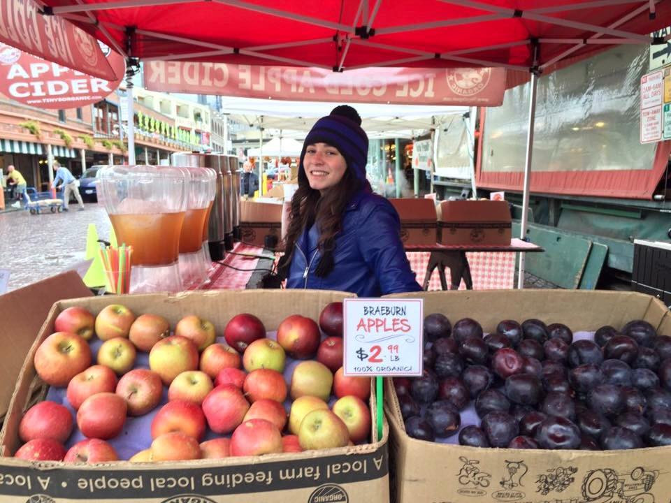 Tiny Organics at Pike Place Market