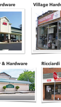 Shop local for your hardware needs!