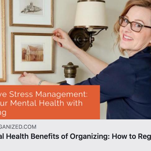 Organize Healthy