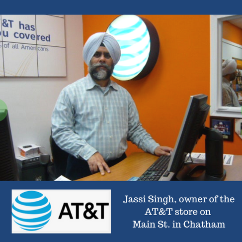 Jassi Singh of AT&T is open help you!