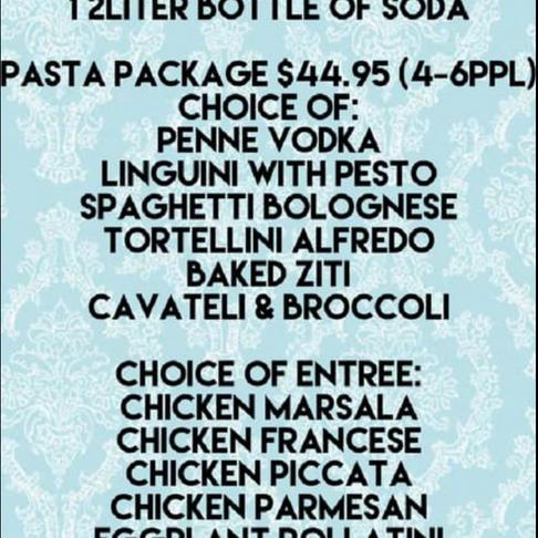Yummy Italian Family Dinners!