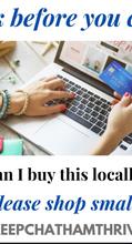 Keep CHATHAM Thriving! #shoplocal