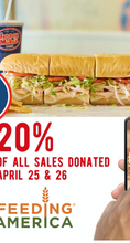 Yummy subs & help feed others!