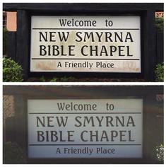 NSB Bible Chapel - New Smyrna Beach, FL
