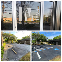MPaul General Contractors sealcoating and striping