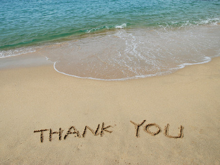 A Thank You to Our Clients...