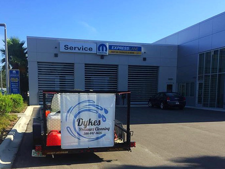 Customer Service from Dykes Pressure Cleaning