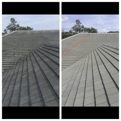 Friends Banks roof before and after
