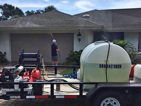 Soft Washing Your Florida Home