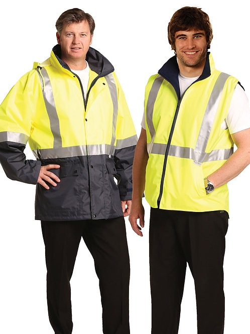 3 IN 1 Jacket and reversible vest