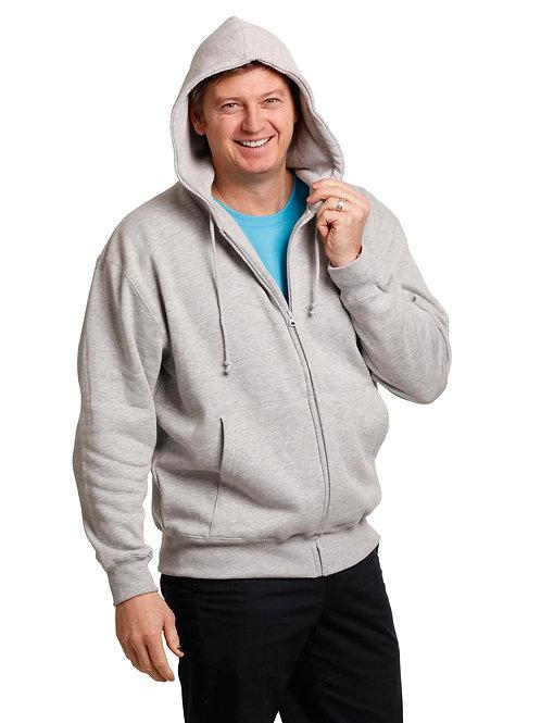 Men's Full Zip Fleecy Hoodie