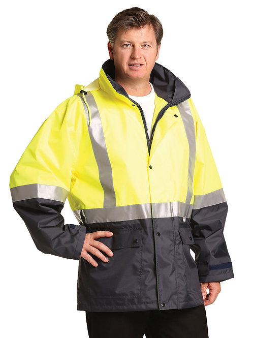 Two Tone Rain Proof Jacket With 3m Tapes