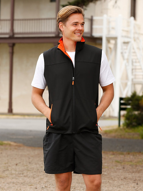 Soft Shell Vest Men's