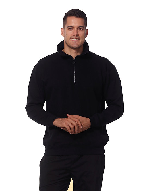1/2 Zip Fleece Sweat Top