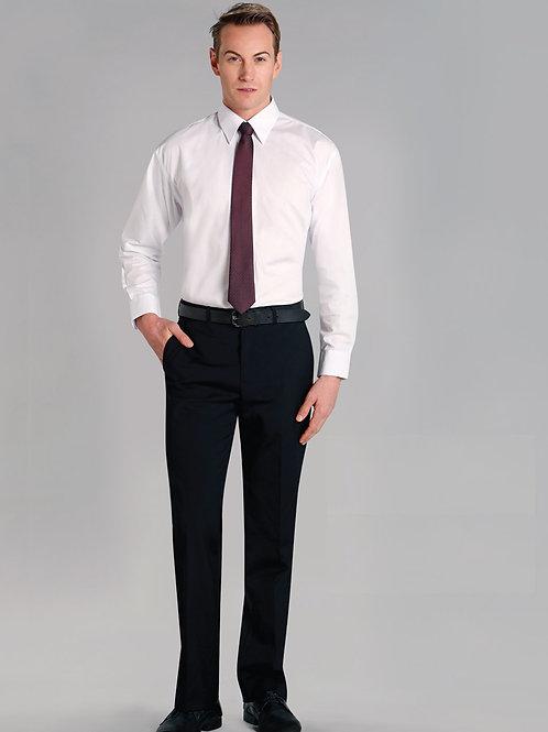 Men's Wool Blend Stretch Flexi Waist Pants