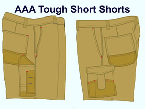 AAA Short Shorts Tradie Tough