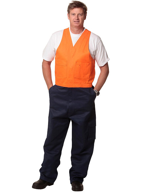 Men's Hi Vis Overall Regular Size