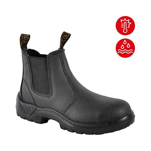 Black Rambler Elastic Sided Boot