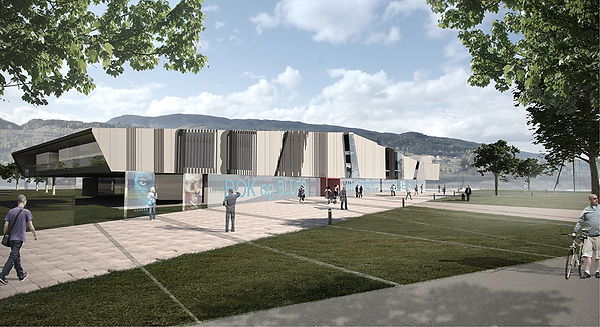 Bok og blueshus, Nottoden, arkitektkonkurranse, kultur, scene, musikkskole, bibliotek