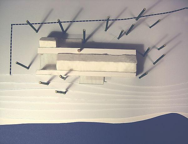 Hytte ved Tyrifjorden, Hole. Modellbilde