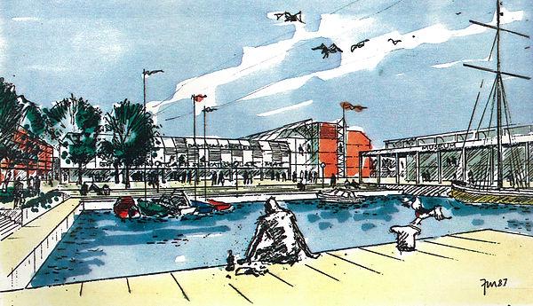 Dampsaga øst, Steinkjer, arkitektkonkurranse