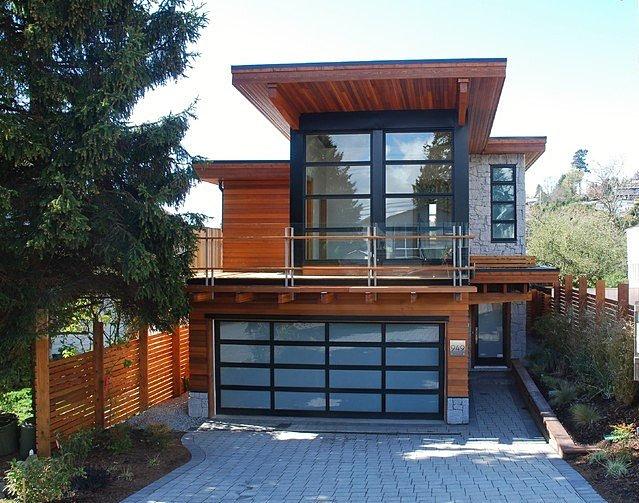 achi modular exterior glass mid century modern garage doors photosjpg - Mid Century Modern Garage Doors