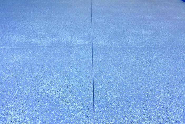 RV Carport with double-coated epoxy flooring