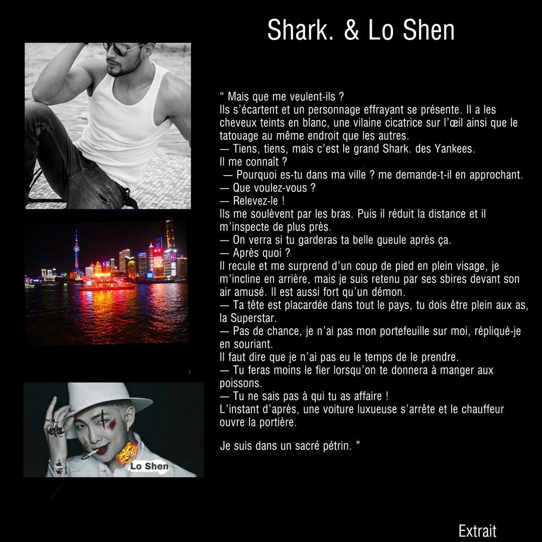 Extrait de Shark. à Shanghai