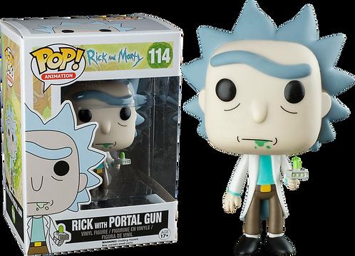 Rick & Morty Rick w/ Portal Gun
