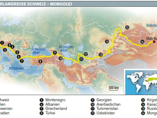 grenzen-los.ch im Globetrotter Reisemagazin