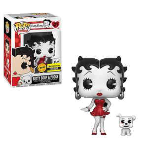 Betty Boop Betty Boop & Pudgy B&W (EE Exclusive)