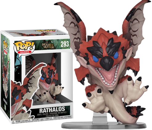 Monster Hunter: Rathalos Pop Vinyl Figure