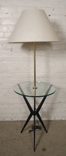 Tray Table Floor Lamp by Robert Abbey