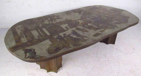 Philip & Kelvin Laverne Free Form Odyssey II Coffee Table