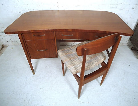 Mid-Century Modern Desk and Chair by Sligh-Lowry