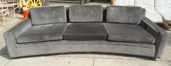 Edward Wormley Curved Sofa