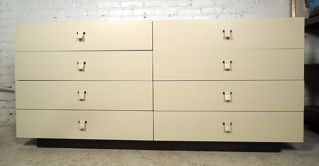 Gorgeous Leather Front Dresser by Calvin Klein