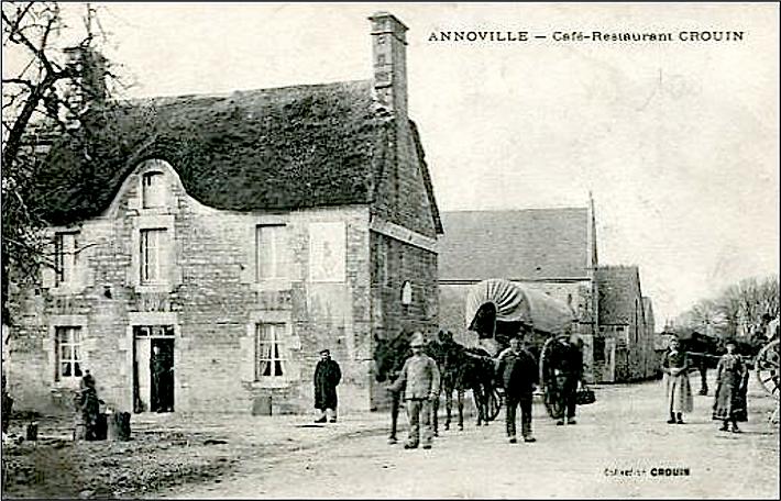 Annoville_restaurant_Crouin_début_XXe.p