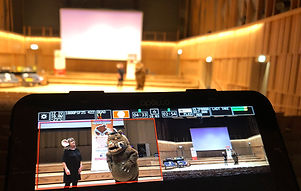 Oxford Film Shed filming Julia Donaldson and the Gruffalo at the Royal Birmingham Conservatoire