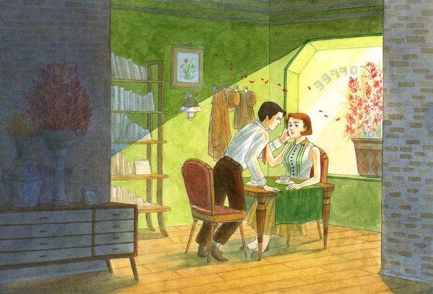 A Vintage Cafe, Love