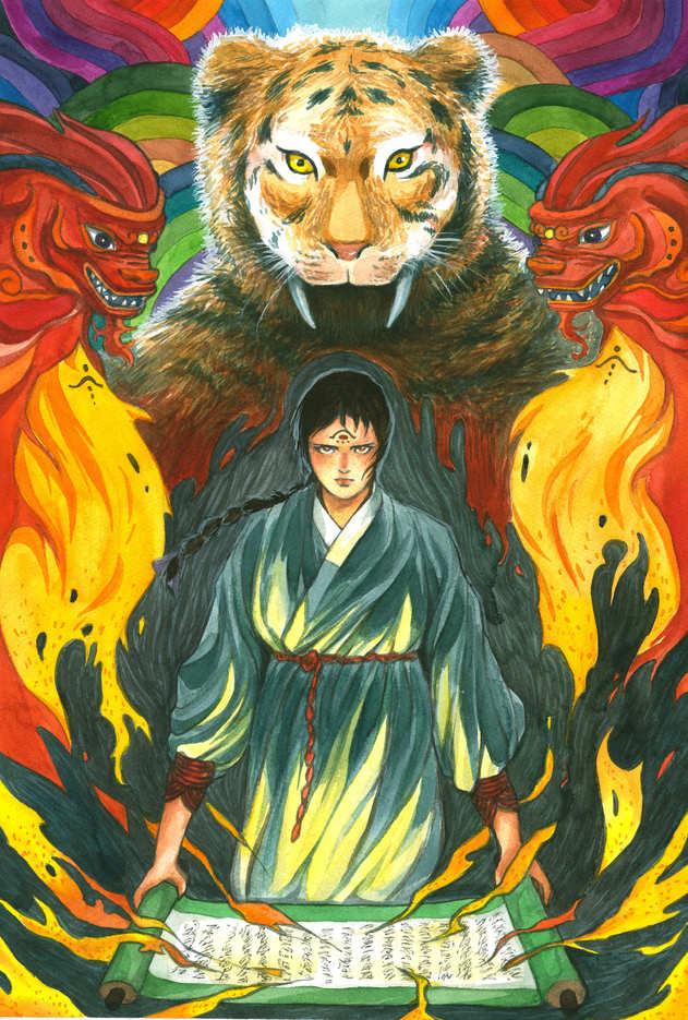 summoning a spirit
