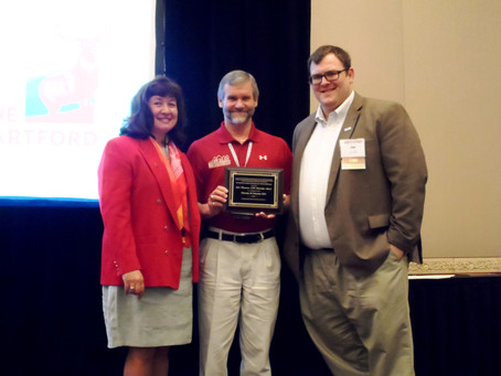 The American Institute of Constructors (AIC) recently inducted Mike Golden into the AIC College of F